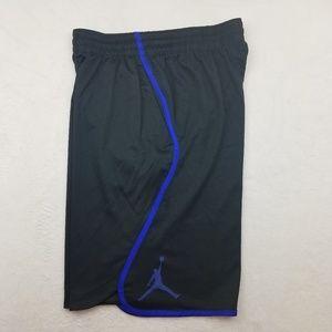 Air Jordan Nike Black Basketball Shorts Large
